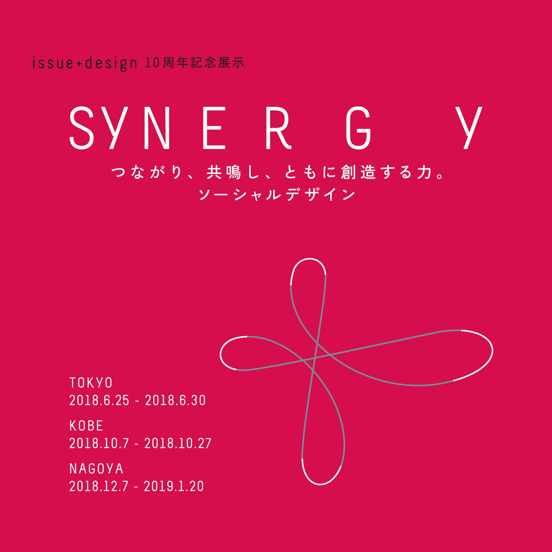 issue+design 10周年記念展示 SYNERGY